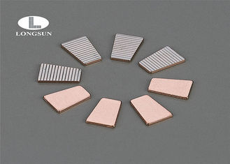 China Electrical Silver Contacts AgNi , Powder Metallurgy Products For Connector supplier