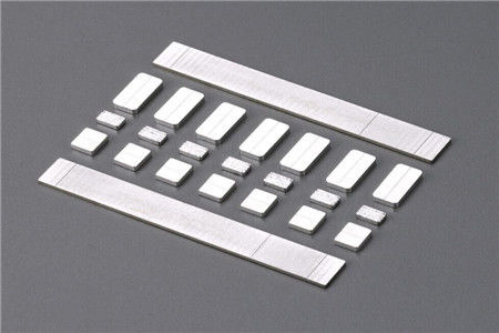 Electrical Protectors Equipment Silver Alloy Contacts Sheet AgW with ISO 9001