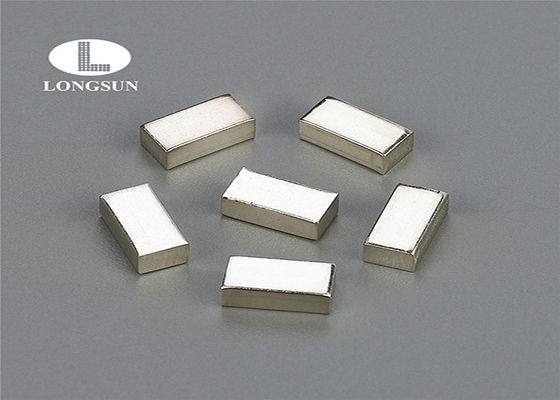 Silver Electrical Contacts Powder Metallurgy Materials Welding With Contacts