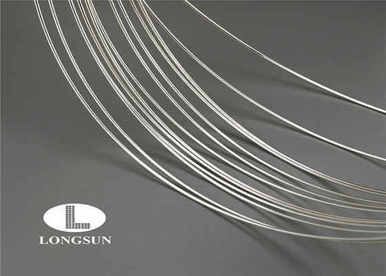 Nickel Silver Wire Suppliers Good Performance / Silver Plated Wire For Fuse