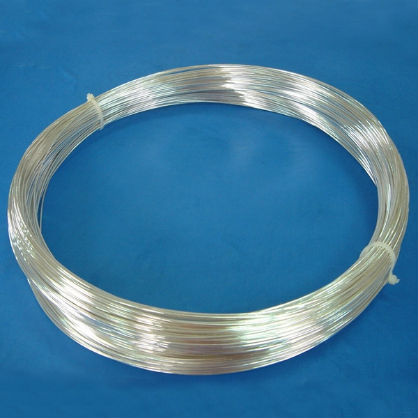 Agcu Thick Silver Plated Copper Wire Low Contact Resistance For ...